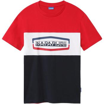 Odjeća Muškarci  Majice kratkih rukava Napapijri NP0A4FDH Plava