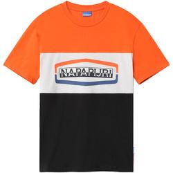 Odjeća Muškarci  Majice kratkih rukava Napapijri NP0A4FDH Crno