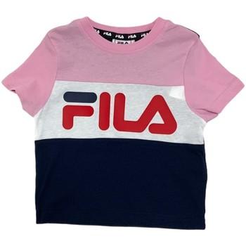 Odjeća Djeca Majice kratkih rukava Fila 688023 Ružičasta