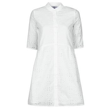 Odjeća Žene  Kratke haljine Betty London ODA Bijela