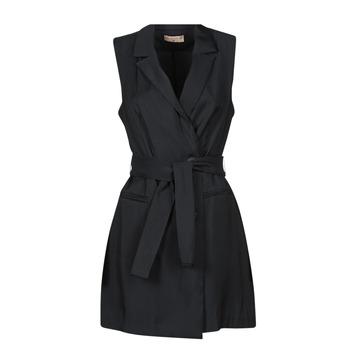Odjeća Žene  Kratke haljine Moony Mood OLALA Crna