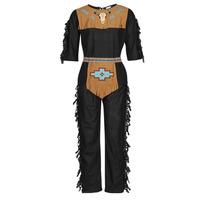 Odjeća Muškarci  Kostimi Fun Costumes COSTUME ADULTE INDIENNE SHE-WOLF Multicolour