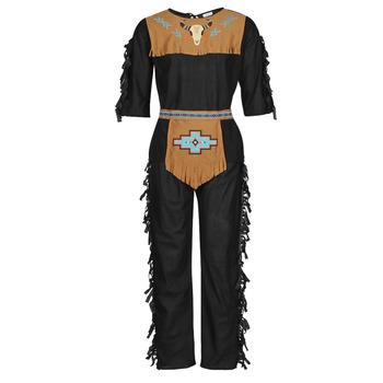 Odjeća Muškarci  Kostimi Fun Costumes COSTUME ADULTE INDIEN NOBLE WOLF Multicolour