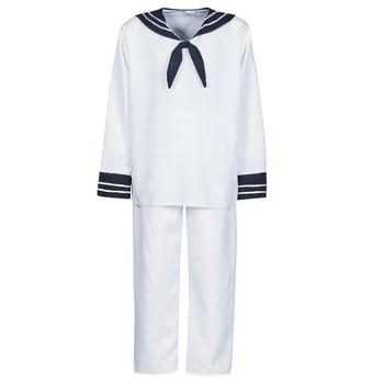 Odjeća Muškarci  Kostimi Fun Costumes COSTUME ADULTE MARIN BLANC Bijela