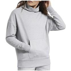 Odjeća Žene  Sportske majice Reebok Sport TE Textured Warm Coverup Siva