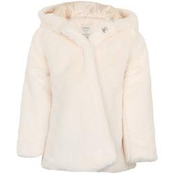 Odjeća Djevojčica Kaputi Losan 026-2795AL Bijela