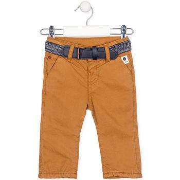 Odjeća Dječak  Hlače Losan 027-9003AL Žuta boja