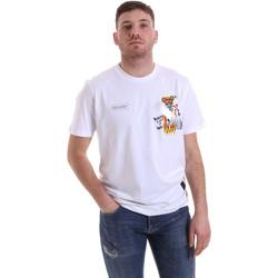 Odjeća Muškarci  Majice kratkih rukava Disclaimer 21EDS50512 Bijela