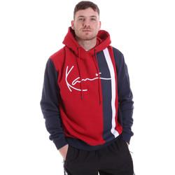 Odjeća Muškarci  Sportske majice Karl Kani KRCKKMQ32005DRED Crvena