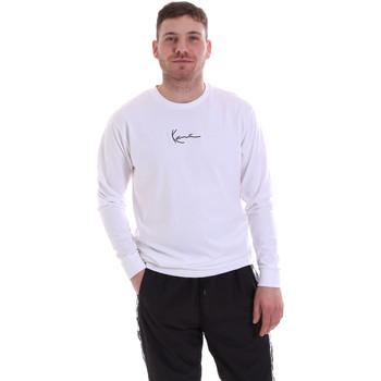 Odjeća Muškarci  Sportske majice Karl Kani KRCKKMQ22002WHT Bijela