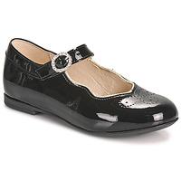 Obuća Djevojčica Balerinke i Mary Jane cipele Little Mary AUBERIE Crna