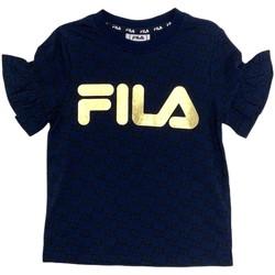 Odjeća Djevojčica Majice kratkih rukava Fila 688038 Plava