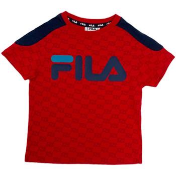 Odjeća Djeca Majice kratkih rukava Fila 688077 Crvena