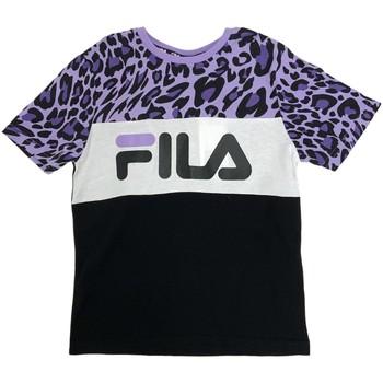 Odjeća Djeca Majice / Polo majice Fila 688169 Crno