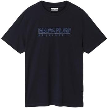Odjeća Muškarci  Majice kratkih rukava Napapijri NP0A4EOB Plava
