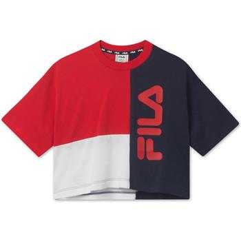 Odjeća Djeca Majice kratkih rukava Fila 687998 Crvena