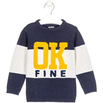 Odjeća Djeca Puloveri Losan 025-5005AL Plava
