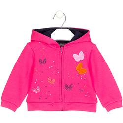 Odjeća Djevojčica Sportske majice Losan 028-6017AL Ružičasta