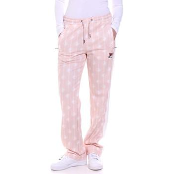 Odjeća Žene  Hlače Fila 687863 Ružičasta