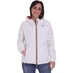 Odjeća Žene  Kratke jakne K-Way K00A2F0 Bijela
