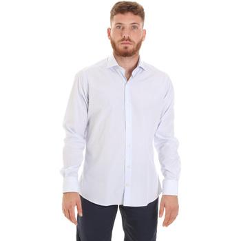 Odjeća Muškarci  Košulje dugih rukava Les Copains 20P.922 P3196SL Bijela