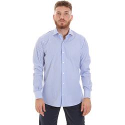 Odjeća Muškarci  Košulje dugih rukava Les Copains 20P.623 P3196SL Plava