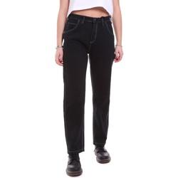 Odjeća Žene  Traperice Dickies DK133004BLK1 Crno