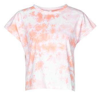 Odjeća Žene  Majice kratkih rukava Yurban ONILA Bijela / Ružičasta