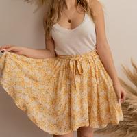Odjeća Žene  Suknje Céleste EGLANTINE Žuta / Bijela