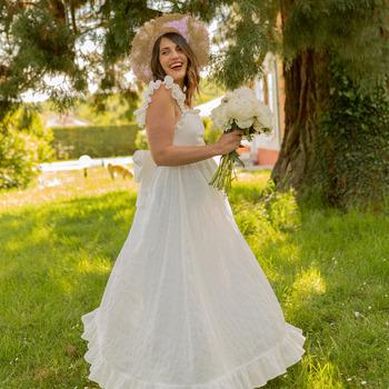 Odjeća Žene  Duge haljine Céleste AURORE Bijela