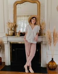 Odjeća Žene  Topovi i bluze Céleste MESANGE Bijela