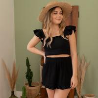 Odjeća Žene  Bermude i kratke hlače Céleste MAGNOLIA Crna