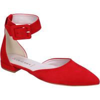 Obuća Žene  Balerinke i Mary Jane cipele Olga Rubini Dekolte Cipela BJ388 Crvena