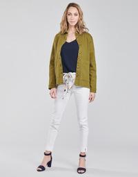 Odjeća Žene  Hlače s pet džepova Betty London OUMA Bijela