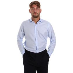 Odjeća Muškarci  Košulje dugih rukava Les Copains 000.058 P3196SL Plava