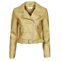 Odjeća Žene  Kožne i sintetičke jakne Only ONLVALERIE Žuta