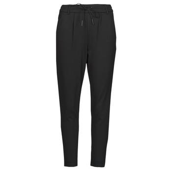 Odjeća Žene  Chino hlačei hlače mrkva kroja Only ONLPOPTRASH Crna
