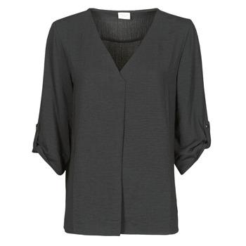 Odjeća Žene  Topovi i bluze JDY JDYDIVYA 3/4 TOP WVN NOOS Crna
