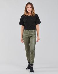 Odjeća Žene  Cargo hlače G-Star Raw HIGH G-SHAPE CARGO SKINNY PANT WMN Kaki