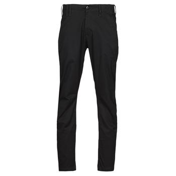 Odjeća Muškarci  Chino hlačei hlače mrkva kroja G-Star Raw VETAR SLIM CHIN Crna