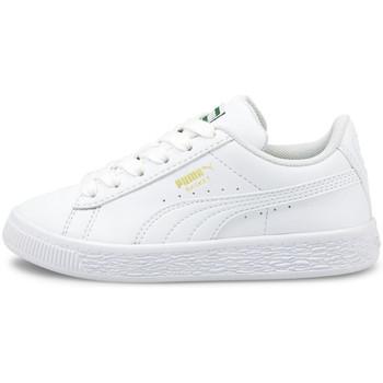 Obuća Djeca Niske tenisice Puma Basket classic xxi ps Bijela