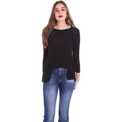 Odjeća Žene  Majice dugih rukava Dixie T340M028 Crno