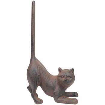 Dom Dekorativni predmeti  Signes Grimalt Vrata Podržava Mačka Gris