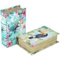 Dom Sanduci i kovčezi Signes Grimalt Kutija za knjige SET 2 jedinice Multicolor