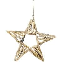 Dom Božićni ukrasi  Signes Grimalt Star S Drvo Dorado