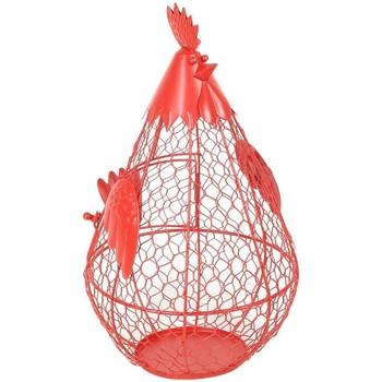 Dom Dekorativni tanjuri  Signes Grimalt Pileća košarica Rojo