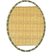 Dom Dekorativni tanjuri  Signes Grimalt Pladanj od melamina od bambusa Amarillo