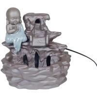 Dom Dekorativni predmeti  Signes Grimalt Izvor Buddha Keramika Gris