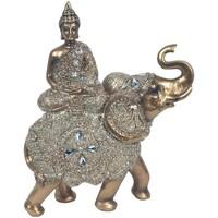 Dom Dekorativni predmeti  Signes Grimalt Sjedenje Buda Na Slon Dorado