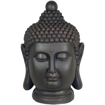 Dom Dekorativni predmeti  Signes Grimalt Buda Glava Magnesia Negro